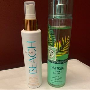 FREE W BUNDLE- beach coconut mist & sea salt hair